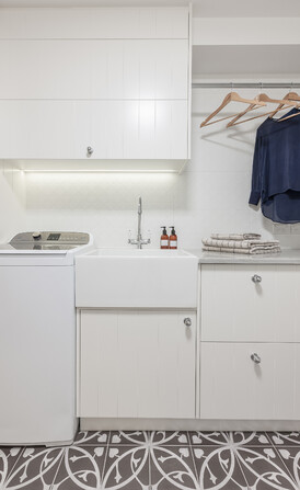 Laundry designed by Du Bois Design/Photograph Kallan Mac Leod