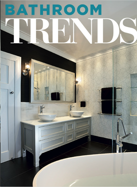 2014 Front cover of Bathroom Trends Magazine