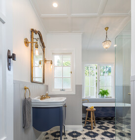 CLASSIC NAVY - Bathroom design, Greenlane
