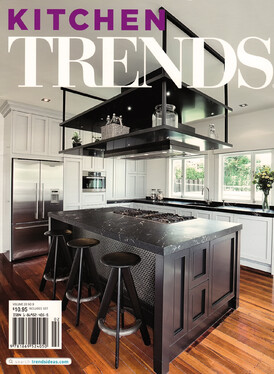 2012 Front cover of Australian Kitchen Trends Magazine