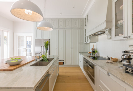 FRENCH ELEGANCE - Award winning kitchen, bathrooms, laundry and interior, Epsom