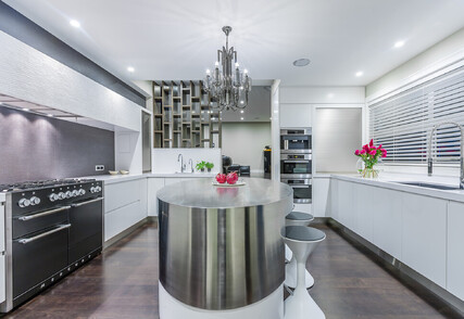 ORIENTAL GLAMOUR - Featured kitchen, pantry, laundry and interior, Orakei
