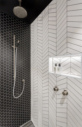 Bathroom by Natalie Du Bois/Photographer Jamie Cobel
