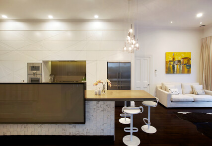 URBAN OASIS - Featured kitchen and library, Freeman's Bay