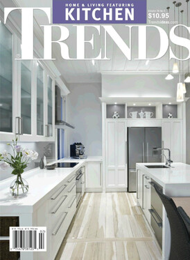 2010 Front cover of American Kitchen Trends Magazine