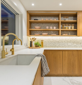 MINIMALIST - Kitchen and interior design, Karaka