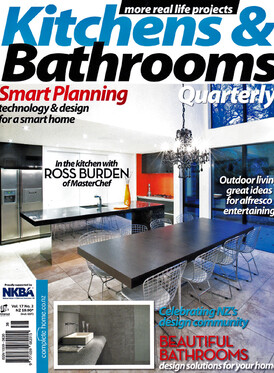 2010 Front cover of Kitchens and Bathroom Quarterly Magazine